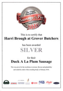Hampshire Fair Sausage Winners