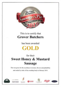 Gold Sweet Honey & Mustard Sausage