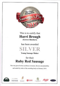 Silver Ruby Red Sausage