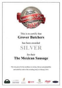 Silder Mexican Sausage