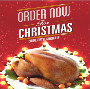 Grover Butchers Christmas Orders
